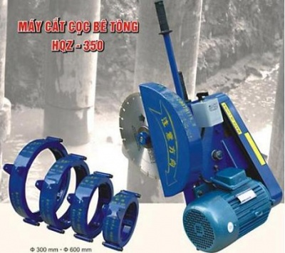 Máy cắt cọc bê tông HQZ - 350