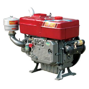 Động cơ Diesel DongGeng S1115 (24HP) Gió, Nước, Đề