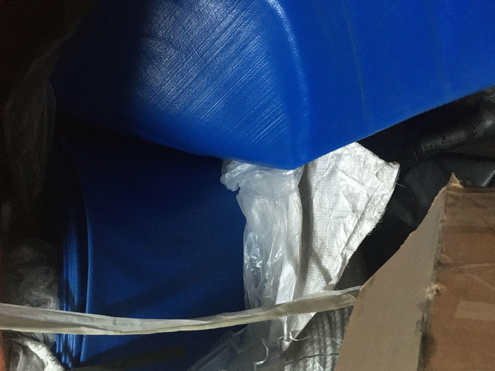 Ống bạt nhựa PVC xả nước phi 120