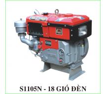 Động cơ Diesel  TiGer Power S1105 D18 Nước, Gió