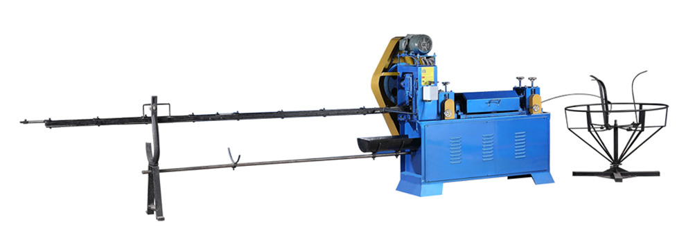Máy duỗi thắng sắt tự động cắt GD-4-8MM