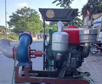 Máy bơm nước đầu nổ Diesel D20