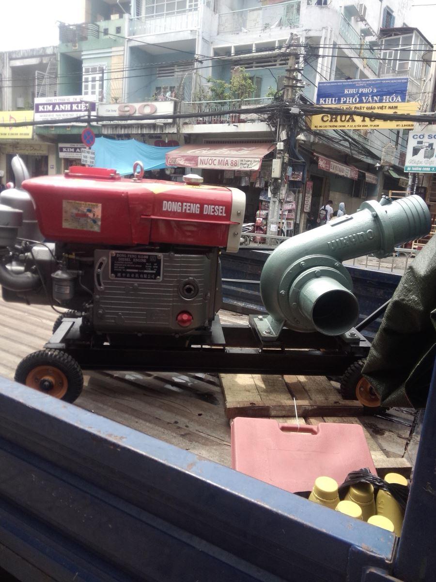Máy Bơm Nước MÁy Diesel Dongfeng D15 Đầu Bơm Vikyno
