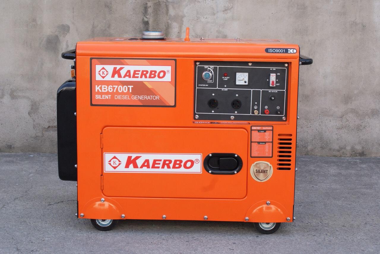 Máy Phát Điện Cách Âm Diesel KaerBo 5KW KB-6700T