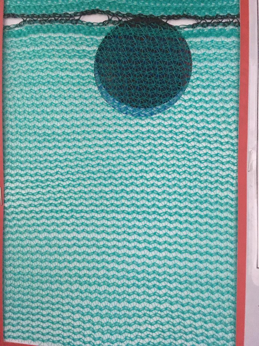 Lưới Che Bụi, Lưới Che Công Trình ( Scffolding) Green ( MÀu xanh lá) 100g/m2