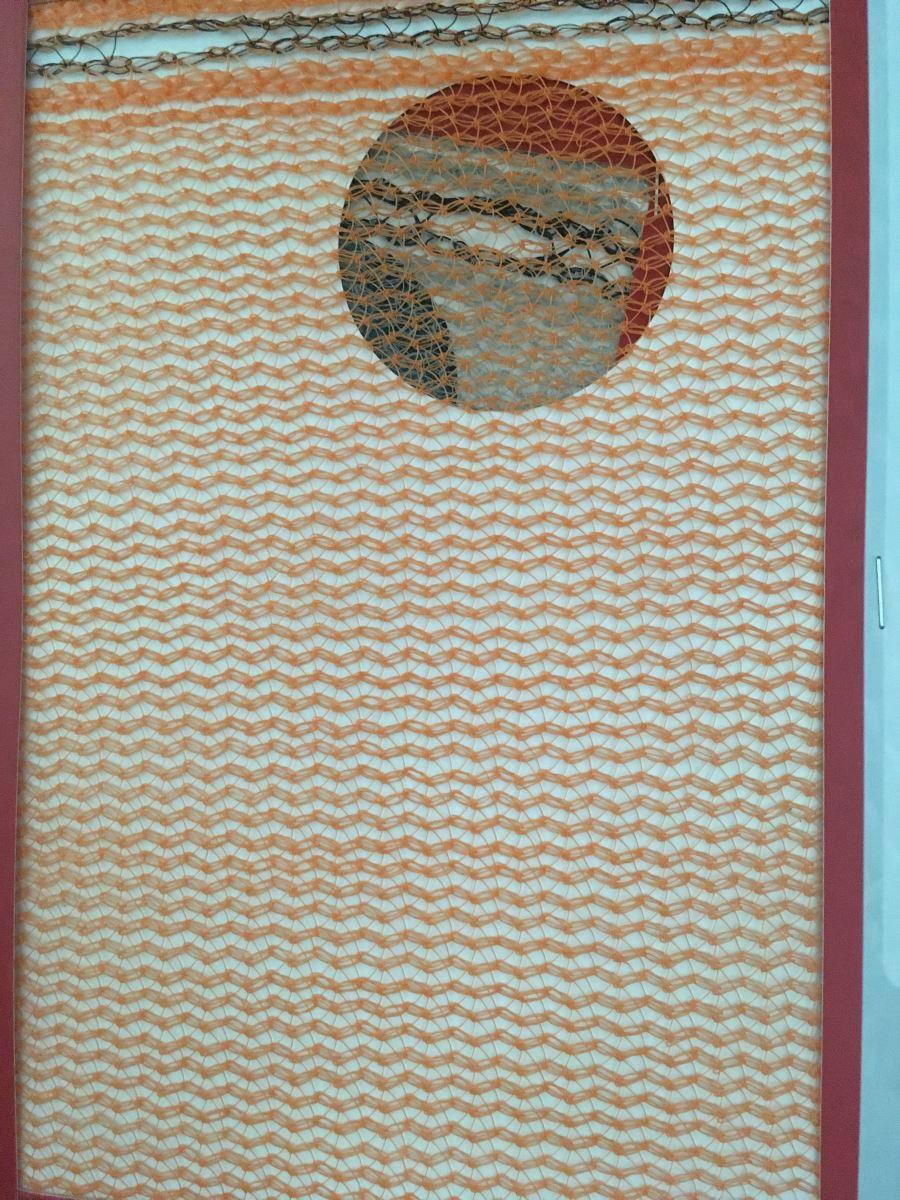 Lưới Chắn Bụi, Lưới Che Công Trình ( Scaffolding, Orange) Màu Cam 70g/m2