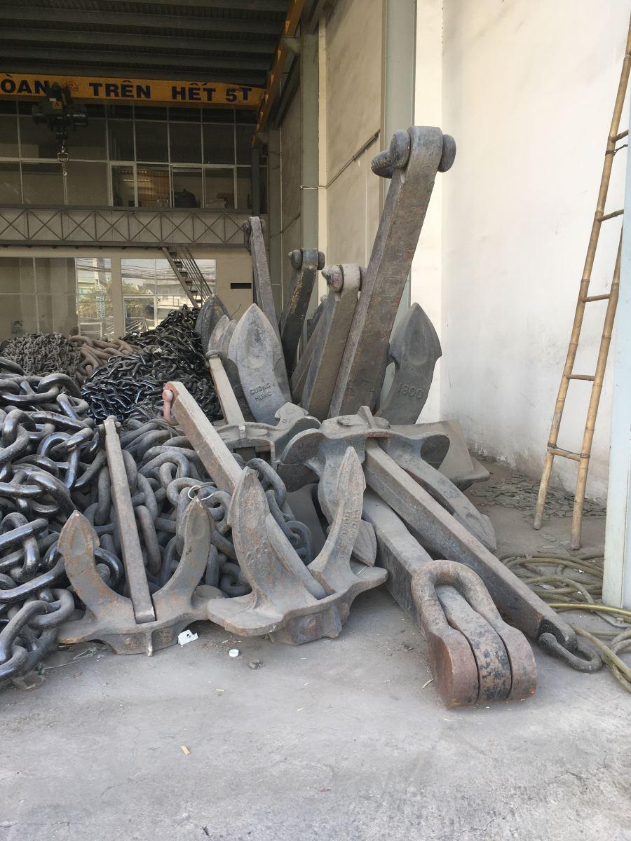 Mỏ Neo Tàu Biển Neo Xà Lan Loại 200kg 300k 800kg